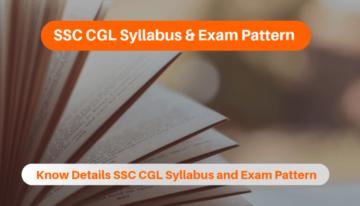 SSC CGL Syllabus
