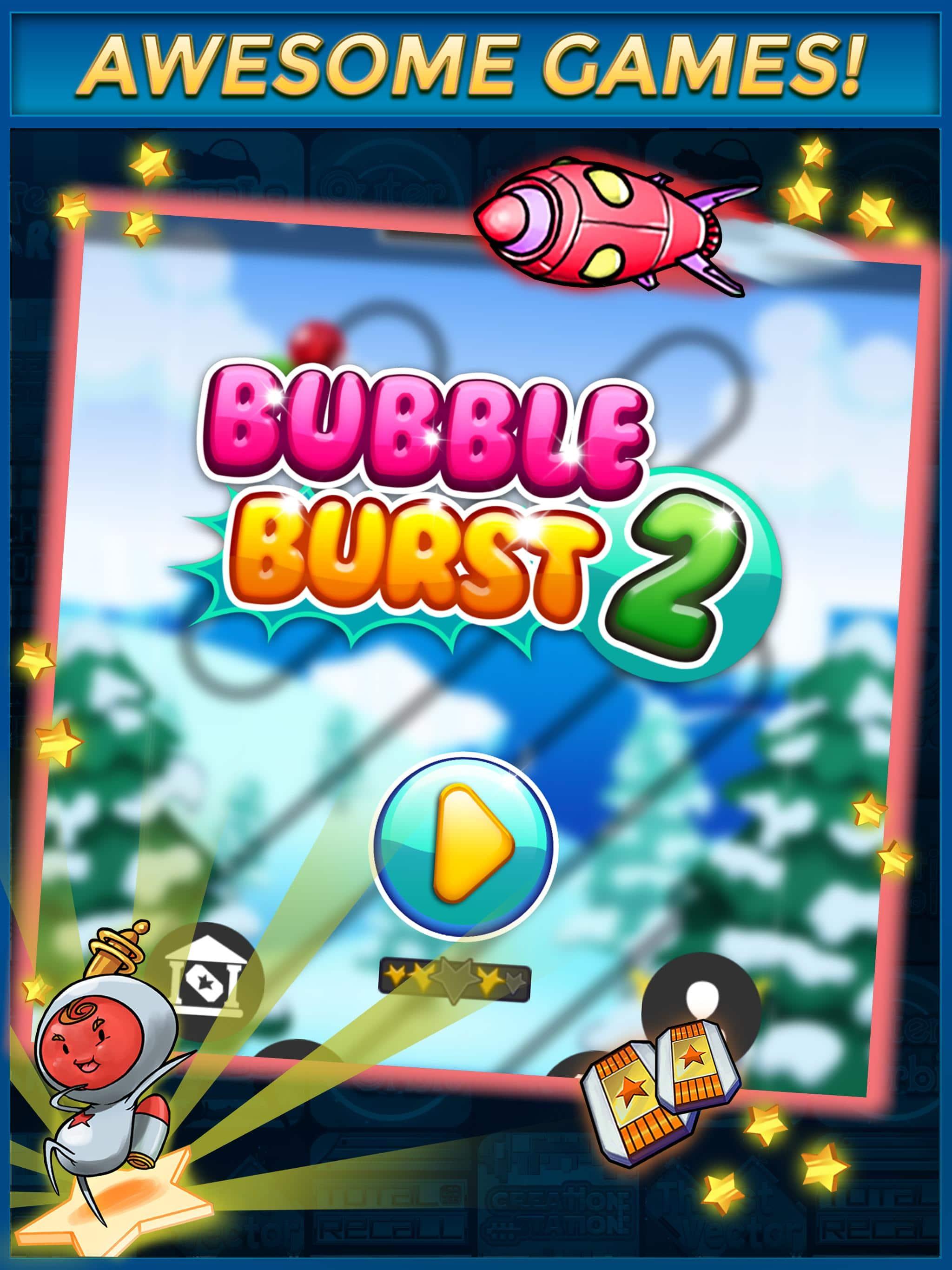 Bubble Burst Gaming app